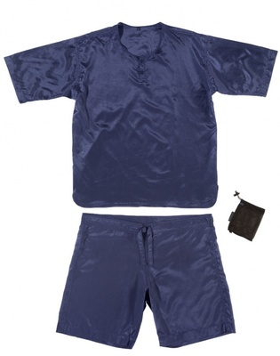 Cocoon Mens Adventure Nightwear Shirt und Short